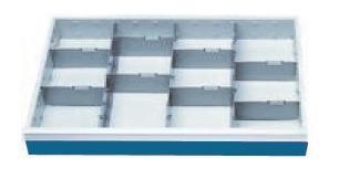 Schubladeneinsatz, Höhe 100 mm, Breite 680 mm