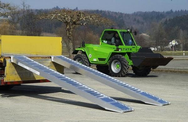Verladerampen mit Rand, Tragkraft/Paar 4050 kg, Breite 305 mm, Länge 1610 mm