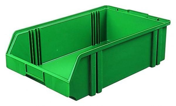 Sichtlagerkästen LK 1c grau 500x300x145 mm, aus Polystyrol (PS), stapelbar, VE = 10 Stück