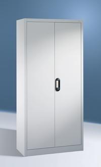 Büro- und Aktenschrank, Breite 930 mm Tiefe 500 mm Höhe 1950 mm, in 3 Farben