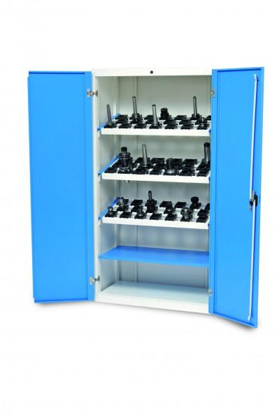 CNC Werkzeugschrank 980x500x1838 mm, inkl. 3 Werkzeugaufnahmerahmen, inkl. CNC-Einsätze