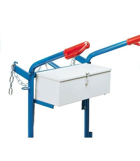 Werkzeugkasten für Stahlflaschenkarren, als separates Zubehör