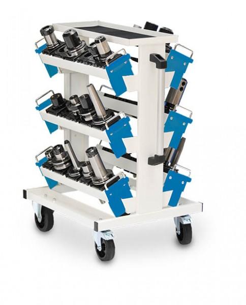 CNC Werkzeugträger 630x900x860 mm, fahrbar, incl. 6 Aufnahmeträger 600 (WAT) ohne Schrank