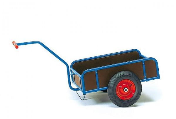 Handwagen 795x445 mm, 200 kg Tragkraft, mit 4 Wänden, Luft-Bereifung