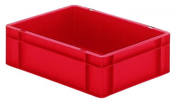 Stapelkästen Höhe 120 mm rot, TK400/300, Wände und Boden geschlossen, 4 Stück