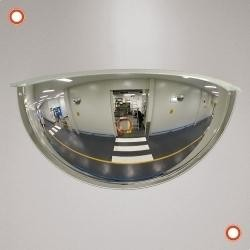 Drei-Wege-Spiegel PANORAMA 180º für innen, Ø 600x300x165 mm