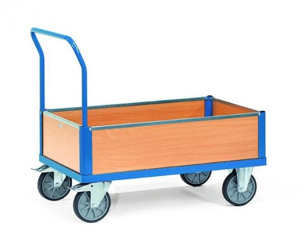 Kastenwagen mit Schiebebügel, 600 kg Tragkraft, 1000x600 mm