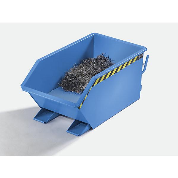 Späne-Kippbehälter SGU-50 mit 0,50 m³ Inhalt, 1000 kg Tragkraft, in 3 Farben lieferbar