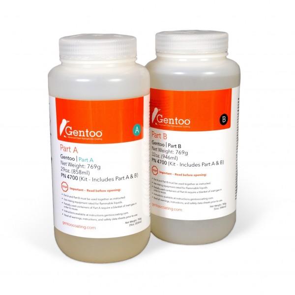 Gentoo - Part A und Part B, Nanobeschichtung