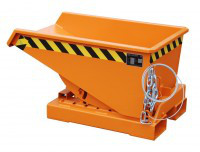 Stapler-Kippbehälter EXPO 2,10 m³ Inhalt, 1500 kg Tragkraft, in 3 Farben lieferbar