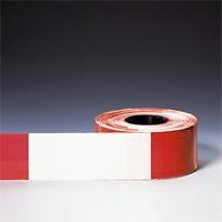 Warn- und Absperrband, rot-weiß