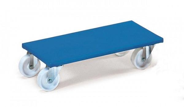 Möbelroller 500 kg Tragkraft, 600x350 mm, VE=2 STück, Polyamidräder,