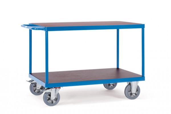 Schwerer Tischwagen 1000x700 mm, 1200 kg Tragkraft, rutschsichere Plattform