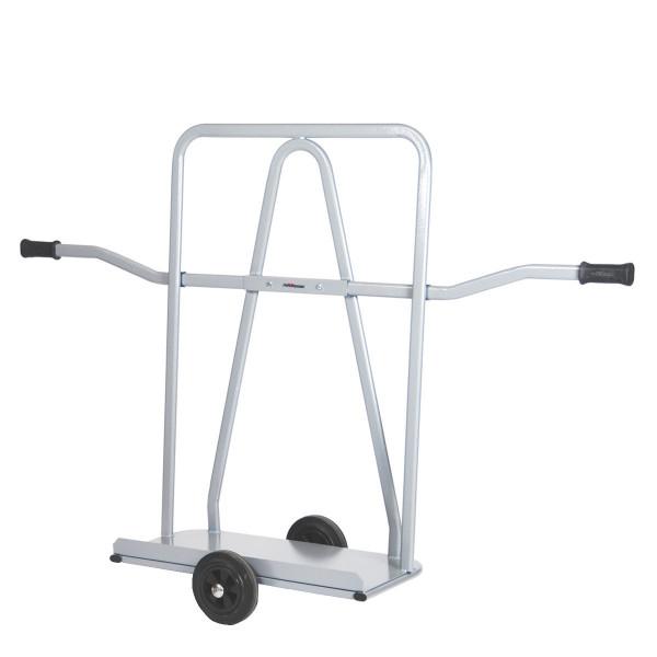 Markisenroller mit Schiebebügel, Vollgummi-Reifen, 350 kg Tragkraft