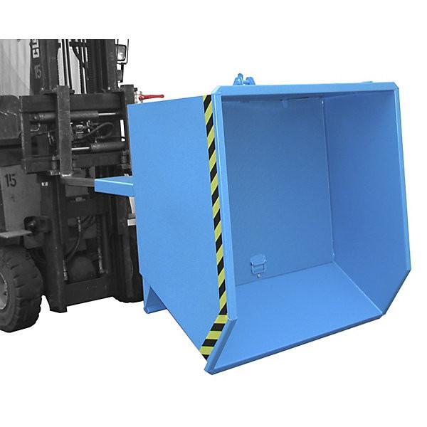 Späne-Kippbehälter SGU-75 mit 0,75 m³ Inhalt, 1000 kg Tragkraft, in 3 Farben lieferbar