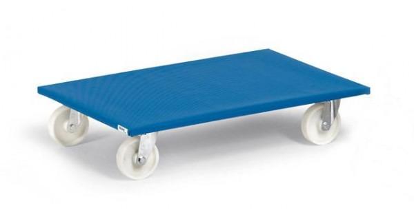 Möbelroller 600 kg Tragkraft, 800x600 mm, Polyamidräder
