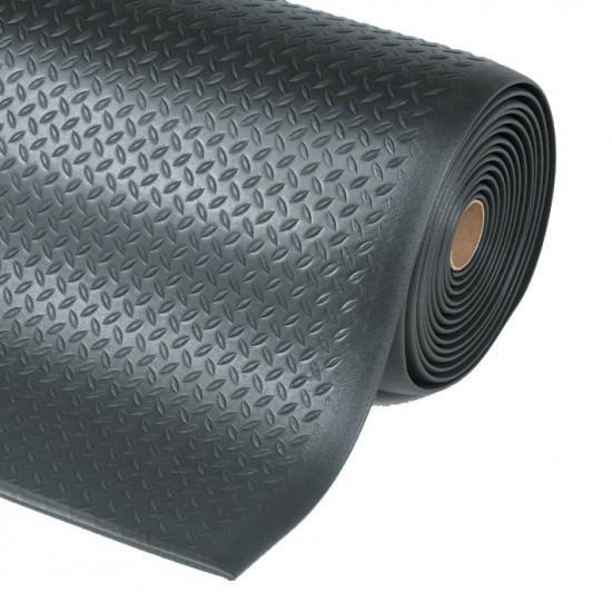Diamond -Tred, Anti-Fatigue Tränenblechoptik Rolle - 910 mm breit, Länge 18,3 Meter