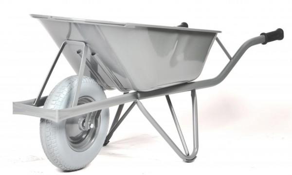 Straßenbaukarre - Schubkarre, 80 Liter, pannensichere Reifen, 150 kg Tragkrft