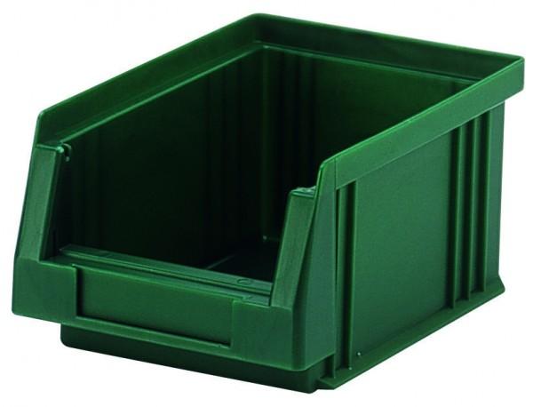Sichtlagerkästen PLK 4 grau 164x105x75 mm, aus Polypropylen (PP), stapelbar, VE = 25 Stück
