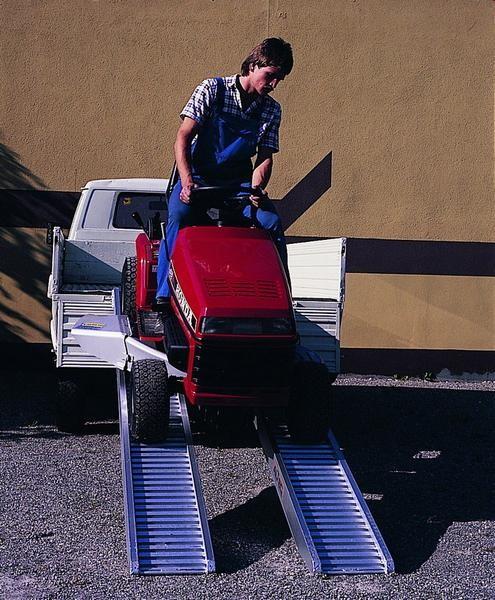 Verladerampen ohne Rand, Tragkraft/Paar 2150 kg, Breite 305 mm, Länge 1980 mm