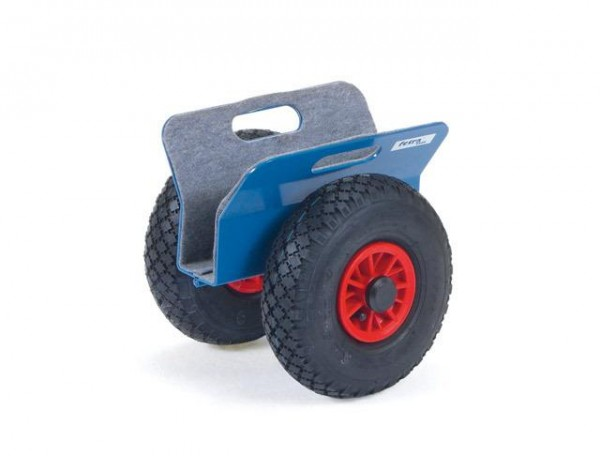 Plattenroller 60 mm, Luft-Reifen, 250 kg Tragkraft