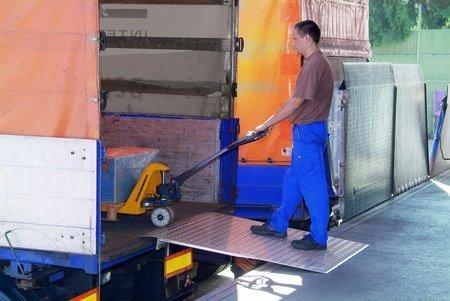 Schwerlast-Überfahrbrücken, Tragkraft 1200 kg, Länge 750 mm, Breite 1250 mm