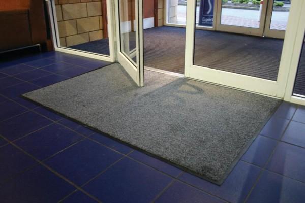Schmutzfangmatte grau, 850x1200 mm