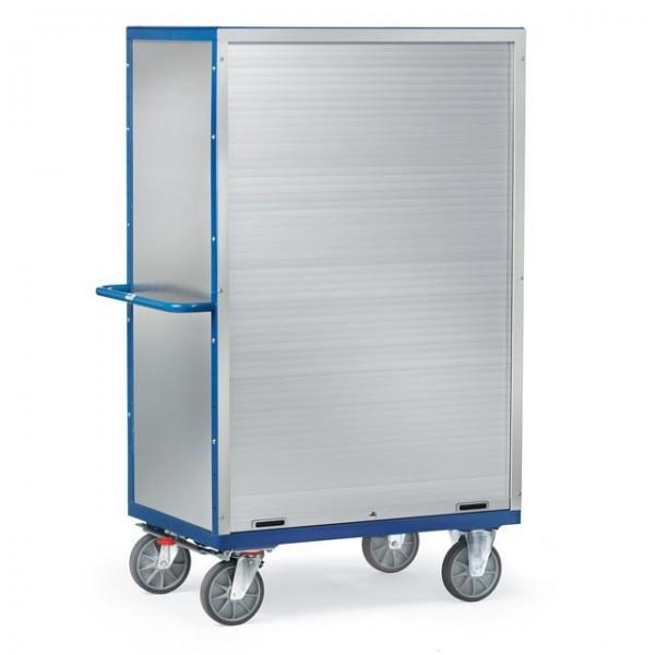 Kastenwagen mit Rollladenverschluss, Alublech, verschließbar 750 kg Tragkraft, 2 Größen