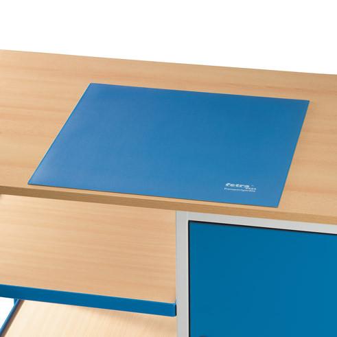 Schreibunterlage 485 x 485 mm, blau