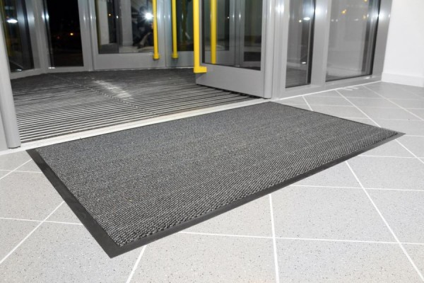 Eingangsmatte grau, 900x1500 mm