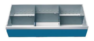 Schubladeneinsatz Höhe 200 mm, Breite 980 mm, Nutzmaß 900x400 mm