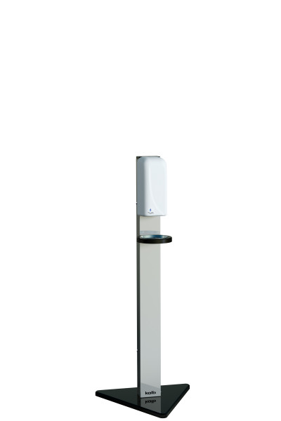 "Desinfektionsständer ""touchfree"" EDELSTAHL Sensor-Spender, 750 ml, Höhe 1320 mm"