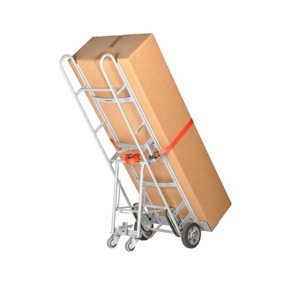 Großgeräte-Transportkarren 500 kg Tragkraft, für Automaten + Großkühlschränke, Höhe 1170, Vollgummi-