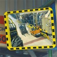 Industriespiegel EUCRYL, 3 Größen, stoßfest