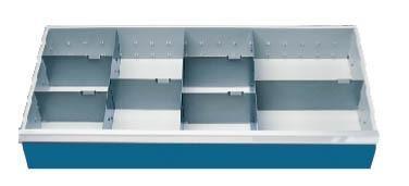 Schubladeneinsatz Höhe 150 mm, Breite 980 mm, Nutzmaß 900x400 mm