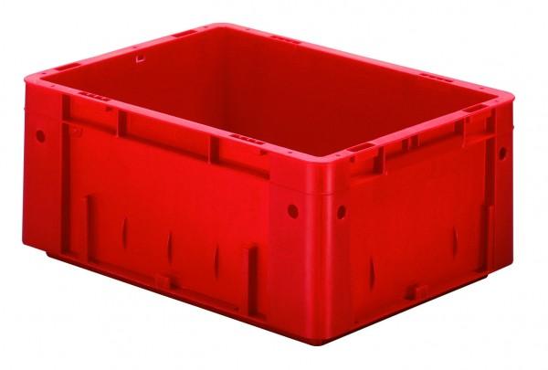 Schwerlast-Stapelkästen rot VTK 400/175 (PP), Wände und Boden geschlossen, VE = 4 Stück
