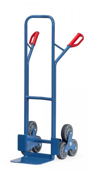 Treppenkarren 200 kg Tragkraft, 320x250 mm Schaufel, 2 x 3-fach Radsterne