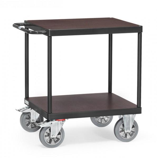 Extra Schwerer Tisch- und Montagewagen, anthrazit, 1200 kg Tragkraft, 700x700 mm