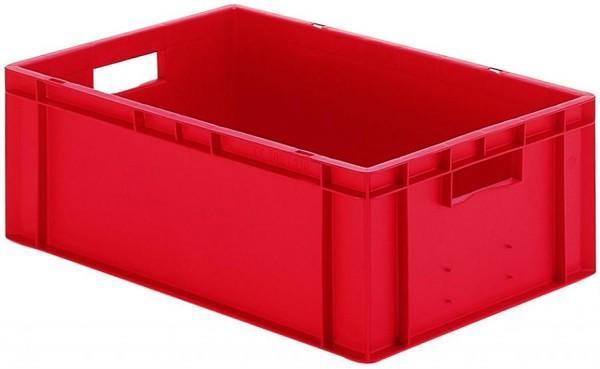 Stapelkästen Höhe 210 mm rot, TK 600/400, Wände und Boden geschlossen, 2 Stück