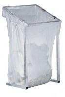 Großvolumen-Wertstoffsammler MEGA, 1.000 L, passend für Seitenfaltenbeutel, Breite 730 mm, Tiefe 695