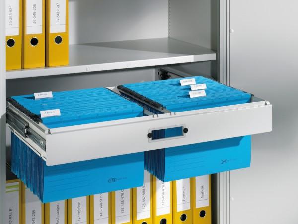 Hängerahmen für DIN A4-Hefter, Schrankbreite 930 mm, Tiefe 400 mm