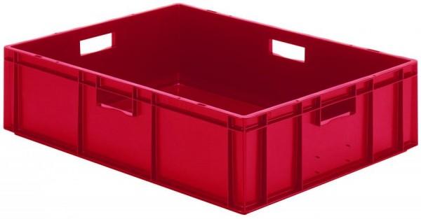 Stapelkästen Höhe 210 mm rot, TK 800/600, Wände und Boden geschlossen, VE = 2 Stück