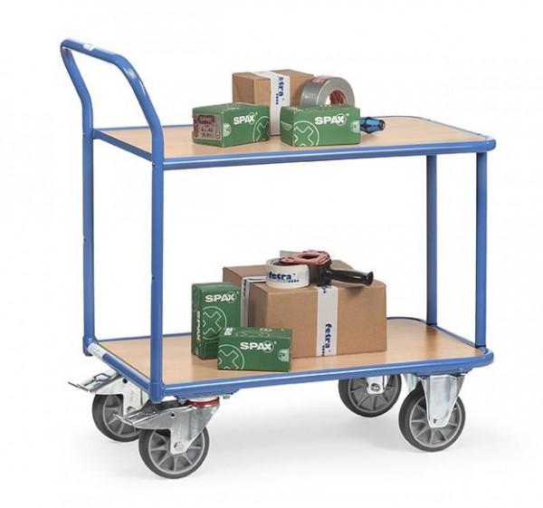 Tischwagen 400 kg Tragkraft, 2 Etagen 1000x700 mm