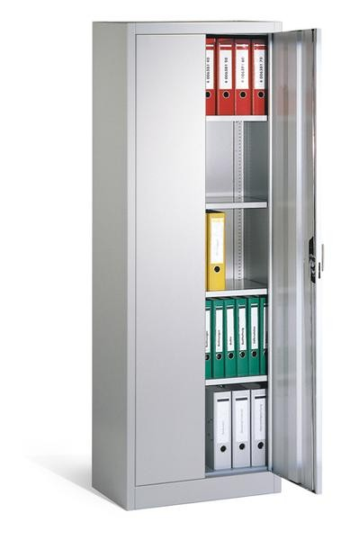 Aktenschrank Breite 700x500 mm, Höhe 1950 mm, 4 Böden in 3 Farben