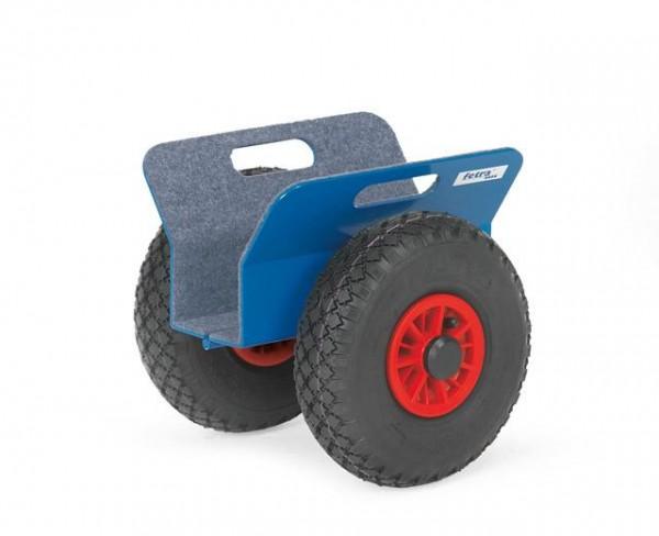 Plattenroller 300x95 mm, Luft-Reifen, 250 kg Tragkraft
