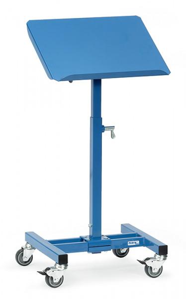 Materialständer 3282, 510x410 mm Ladefläche fahrbar,150 kg Tragkraft, höhenverstellbar 500-775