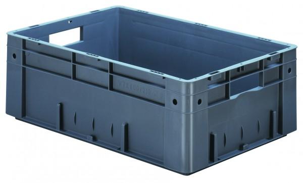 Schwerlast-Stapelkästen grün VTK 600/210 (PP), Wände und Boden geschlossen, VE = 2 Stück