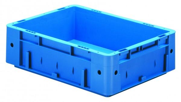 Schwerlast-Stapelkästen blau VTK 400/120 (PP), Wände und Boden geschlossen, VE = 4 Stück