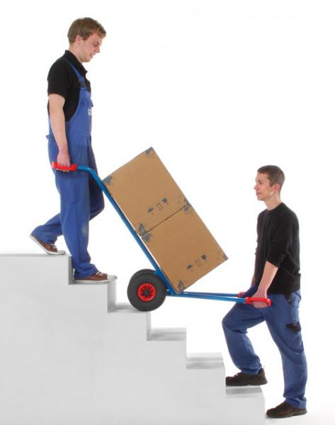 Gerätekarren für Kühlschränke 250 kg Tragkraft, Luftreifen, 150x480 mm Schaufel