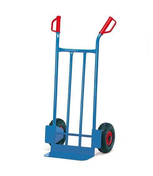 Stahlrohrkarren 250 kg Tragkraft, Vollgummi, 480x300 mm Schaufel